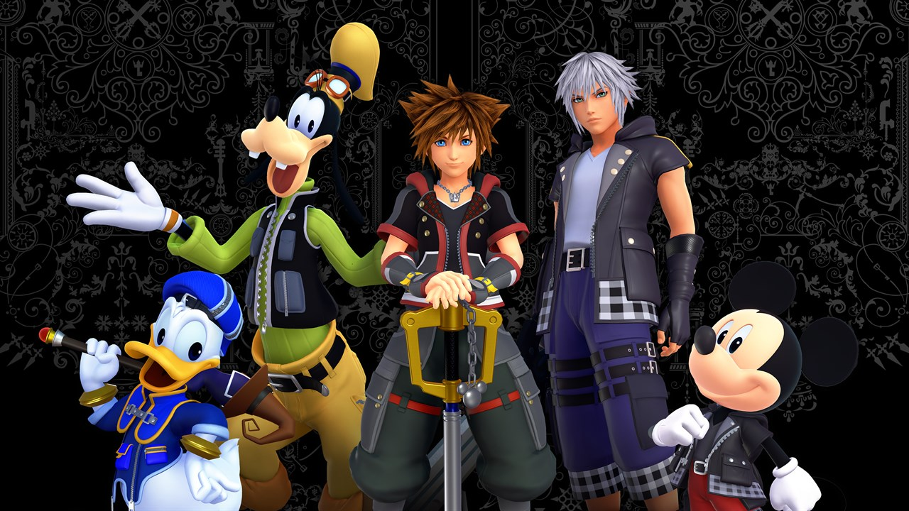 Game Design Kingdom Hearts 3