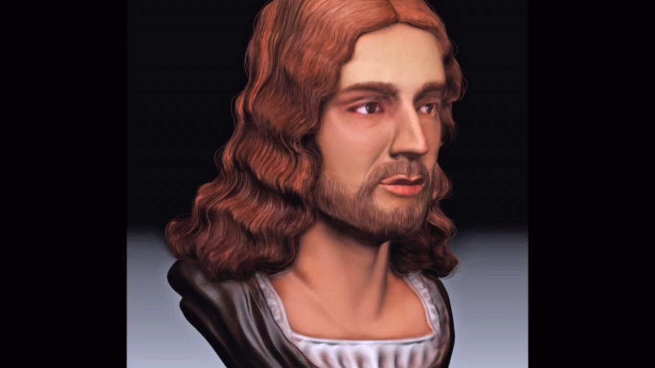 """Raffaello Sanzio: la ricostruzione facciale 3D svela il vero volto del """"Dio mortale"""""""