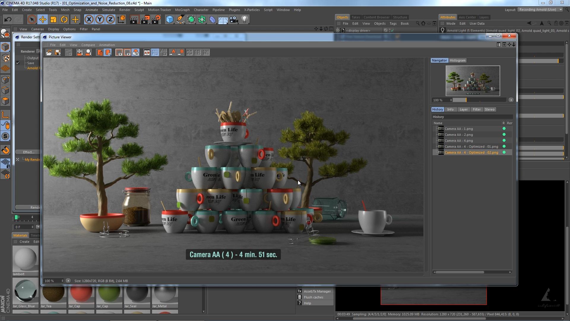 Grafica 3D - Cinema 4D