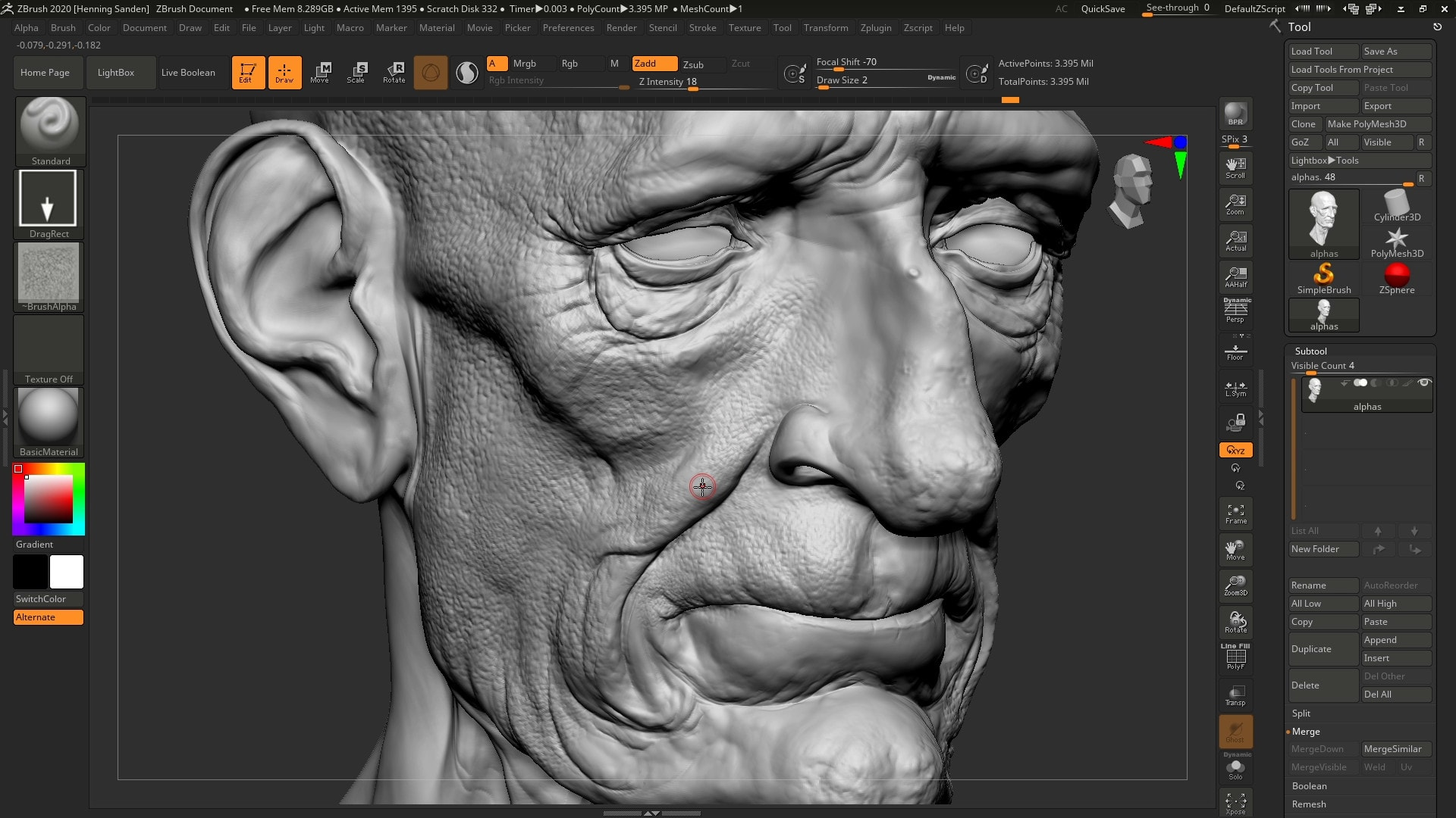 Grafica 3D - ZBrush